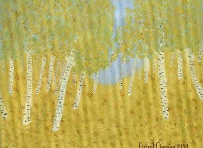 Firicel Ciarnău - Pădure de mesteacăn